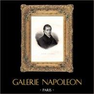 Portrait de Royer-Collard Pierre Paul (1763-1845) | Gravure sur acier originale dessinée par Gianni, gravée par E. Giroux. 1840