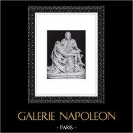 Renacimiento Italiano - La Pietà Vaticana - Escultura de Miguel Ángel