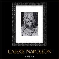 Italian Renaissance - Madonna - La Pietà Vaticana - Sculpture by Michelangelo