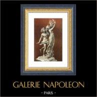 Villa Borghese - Sculpture by Gian Lorenzo Bernini - Apollo and Daphne - Greek Mythology