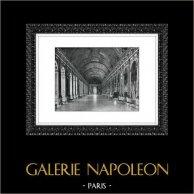 Palacio de Versalles - Château de Versailles - Galería de los Espejos - Gran Galería - Galerie des Glaces