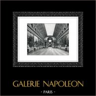 Palace of Versailles - Château de Versailles - Gallery of Battles - Galerie des Batailles | Original heliogravure. Extract of the Collection Versailles et les Trianons. 1920