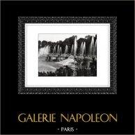 Palácio de Versalhes - Château de Versailles - Jardim - Bassin de Neptune - Netuno - Neptuno | Heliogravura original. Extrato da coleção Versailles et les Trianons. 1920