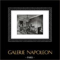 Palacio de Versalles - Château de Versailles - Gran Trianón - Grand Trianon - Trianon de Marbre - Habitación de Napoleón