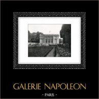 Château de Versailles - Petit Trianon | Héliogravure originale. Extrait de la collection Versailles et les Trianons. 1920
