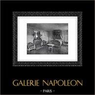 Palacio de Versalles - Château de Versailles - Pequeño Trianón - Petit Trianon - Habitación de María Antonieta