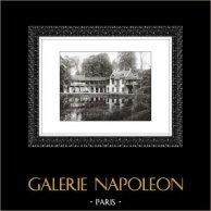 Château de Versailles - Hameau de la Reine - Petit Trianon | Héliogravure originale. Extrait de la collection Versailles et les Trianons. 1920