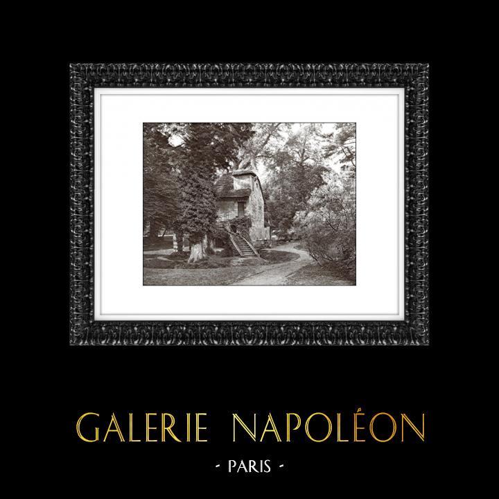 Gravures Anciennes & Dessins   Château de Versailles - Hameau de la Reine - Le Moulin - Petit Trianon   Héliogravure   1920