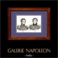 Marschäll des Kaiserreichs und General von Napoleon - Bachelu - Lejeune