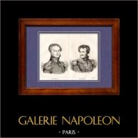Marshal of the Empire and General of Napoleon - Cambronne - Daumesnil