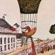 DETAILS 01 | Hot-air Balloon - Airship - Dirigible - Paris - Champ-de-Mars - Mme Blanchard  (1810)