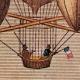 DETAILS 01   Hot-air Balloon - Airship - Dirigible - Harris - Dupuis Delcourt - Green (1824-1836)
