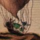 DETAILS 03   Hot-air Balloon - Airship - Dirigible - Harris - Dupuis Delcourt - Green (1824-1836)