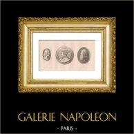 Georges d'Amboise (1460-1510) - Ludovic II de Saluces (1438-1504) - Leonardo da Vinci (1452-1519)