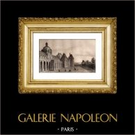 Monuments Historiques de Paris - Palais des Tuileries - XVIème Siècle
