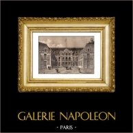 Palacio de Versalles - Château de Versailles - Cour de Marbre
