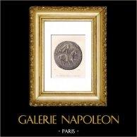 Siegel von Gonthier Clabaut Bürgermeister von Abbeville (Frankreich)