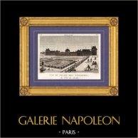 Vista de París - Palacio de las Tullerías - Palais des Tuileries
