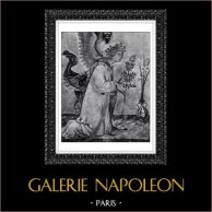Ángel - Arcángel Gabriel - Anunciación (Simone di Martino - Lippo Memmi)