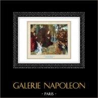 Ángel - Jesús - Natividad - La Adoración de los Pastores (Hugo van der Goes)