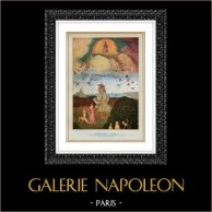 Angel - The Hay Wagon - Terrestrial Paradise - Hell (Hieronymus Bosch or Jeroen Anthoniszoon van Aken)