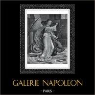 Ángel - Arcángel Gabriel - Anunciación (Gerard David)