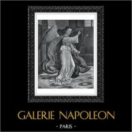 Angel - Archangel Gabriel - Annunciation (Gerard David)
