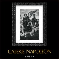 Angel - Biblical scene - Tobias and the Angel Raphael (Antonio Polllajuolo)