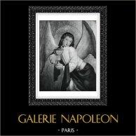 Angel - Angel with the Holy Grail (Le Maitre de Liesborn)