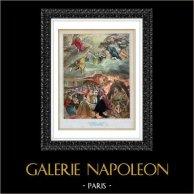 Ange - Le Songe de Philippe II (El Greco)