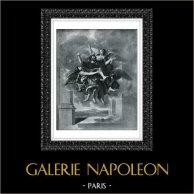 Ange - Ravissement de Saint Paul (Nicolas Poussin)
