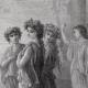 DÉTAILS 02   Fables de La Fontaine - Daphnis et Alcimadure (Gustave Doré)