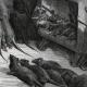 DÉTAILS 04 | Fables de La Fontaine - La Ligue des Rats (Gustave Doré)