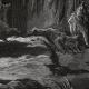 DÉTAILS 04   Fables de La Fontaine - Le Renard Anglois (Gustave Doré)