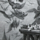 DÉTAILS 03 | Fables de La Fontaine - Les Vautours et les Pigeons (Gustave Doré)
