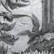 DÉTAILS 05 | Fables de La Fontaine - Les Vautours et les Pigeons (Gustave Doré)