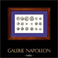 Gaule - Médailles - Villes Gauloiss