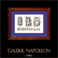 Gaule - Sculptures Gauloises - Saint Landry - Paris