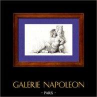 Gaule - Prisonnier Gaulois - Monument  - Grèce antique