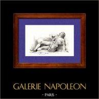 Gaule - Statue - Gaulois se donnant la Mort - Grèce antique