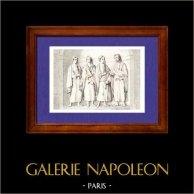 Gaul  - Gaulish Marriage - Stipulatio sub Ascia - Sculpture - France