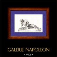 Gaule - Statue - Gaulois Mourant - Grèce antique