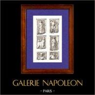 Gaule - Dieux Gaulois - Bas-reliefs