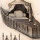 DÉTAILS 01 | Meubles Anciens -14ème Siècle - Bois Sculpté - Chaire - Lit