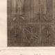 DÉTAILS 03 | Vitrail - Cathédrale de Chartres - XIIIème Siècle - Saint Denis donne l'Oriflamme à Henri de Metz maréchal de France