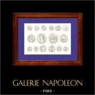 Rome Antique - Médailles - France - Médaille d'Empereur frappées dans les Gaules