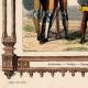 DÉTAILS 03 | Modes et Costumes Français - 14ème Siècle - XIVème Siècle - Soldat - Arbalète - Voulgier - Paysan