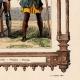 DÉTAILS 04 | Modes et Costumes Français - 14ème Siècle - XIVème Siècle - Soldat - Arbalète - Voulgier - Paysan