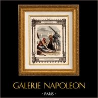 Franse mode en kostuums - Gallische - Parijse schippers