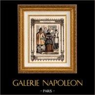 Franse mode en kostuums - 17e eeuw - zeventiende eeuw - Bourgeois - Priest